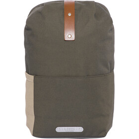 Brooks Dalston fietsrugzak Small 12 l, green fleck/honey